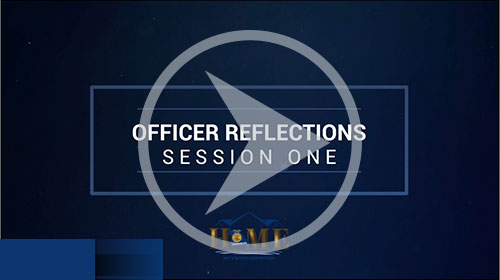 Session 1 Officer Reflections