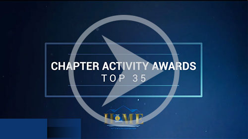 Chapter Activity Awards - Top 35