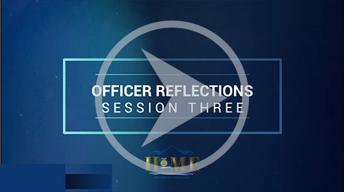 Session 3 Officer Reflections